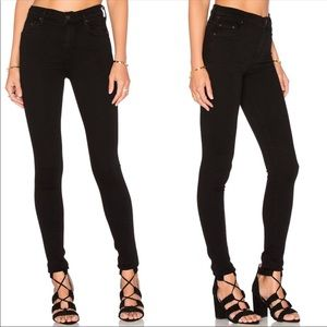 Citizens of Humanity Rocket High Rise Black Jeans